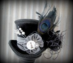 mad hatter hats decorations diy - Google Search