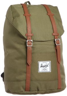 Amazon.com: Herschel Supply Co. Retreat, Army, One Size: Clothing