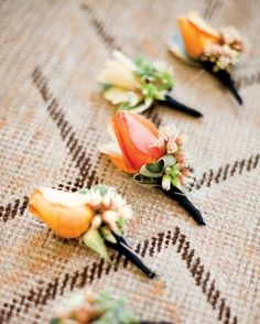 "See the ""Bouton-ette Your Bridesmaids"" in our 55 Ways to Trim Your Wedding Budget gallery"