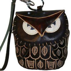 A Genuine Leather Coin/change Purse, Mini Wristlet Bag, Owl Design,100% Hand-made,cute !!! (Black) BPLeathercraft, http://www.amazon.com/dp/B003V2K8R4/ref=cm_sw_r_pi_dp_24uQqb0GESMHF