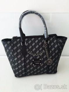 Luxusná čierna Guess kabelka - 1