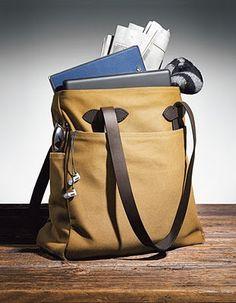 Filson Tote Bag 70260-Tan www.BeauBags.de www.BeauBags.nl