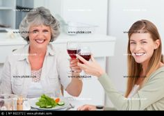 Happy Mother's Day  http://www.photaki.com/picture-woman-drinking-with-her-mother_802372.htm