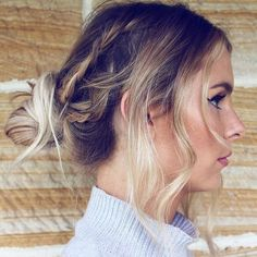 messy+braids+and+knot+hairstyle+for+long+thin+hair