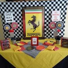 Ferrari Racecar Party - Ferrari