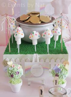 Enchanted Pastel Rainbow Fairy Birthday Party Ideas   Photo 1 of 28   Catch My Party