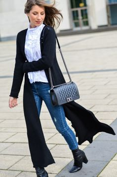 OUTFIT: MAXI CARDIGAN