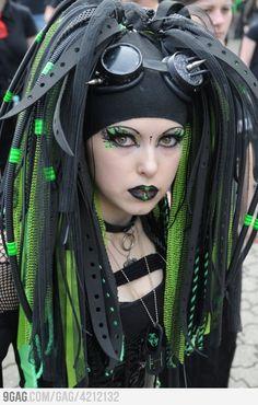 cyberpunk     #costume ideas