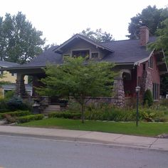Craftsman bungalow Clarkston Michigan.