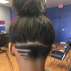 Classic And Simple Undercut Design For Women Style Hair
