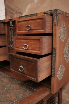 17th Century Spanish Vargueno | CASE PIECES | Pinterest | 17th ...