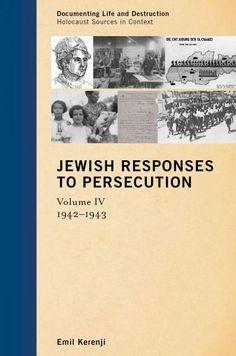 Jewish Responses to Persecution, 1942-1943