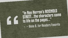 """Reichold Street"" review   http://www.ronaldherron.com"