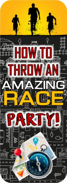 Christmas Party Ideas For Teens - Amazing Race party ideas! Includes free ideas for clues, pit stops, roadblock an. Amazing Race Challenges, Amazing Race Games, Amazing Race Party, Amazing Race Ideas For Adults, Amazing Ideas, Birthday Games For Adults, Birthday Party For Teens, Birthday Party Games, Birthday Ideas