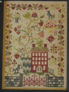 Cross Stitch Sampler Patterns, Embroidery Sampler, Cross Stitch Designs, Just Cross Stitch, Cross Stitch Books, Cross Stitch Samplers, Crochet Waffle Stitch, Blackbird Designs, Book Crafts