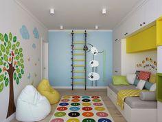 wandtattoos farbige wandgestaltung kinderzimmer wanddeko