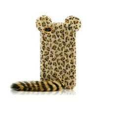 leopard iphone 4 case cover iphone 4s case by handmadeblingcase, $18.00