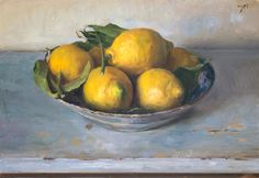 Julian Merrow-Smith, A bowl of lemons