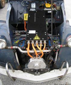 Resultado de imagen de citroen 2cv motor electric