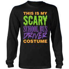 School Bus Driver - Halloween Costume