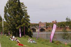 Se détendre à Toulouse plages. © P. Nin - Ville de Toulouse #visiteztoulouse
