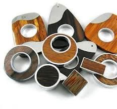 wood and metal jewelry