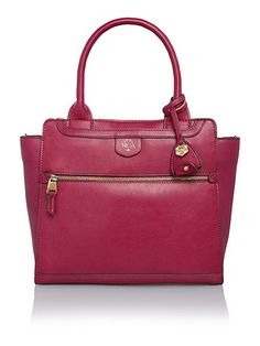 Nikki pink large shoulder tote bag