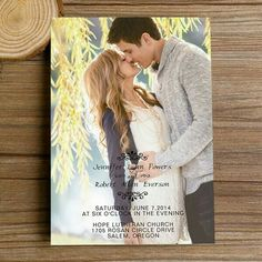 Their picture is cute, and so is the invitation