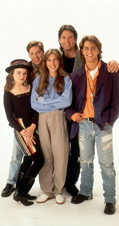 Created by Don Reo.  With Mayim Bialik, Jenna von Oÿ, Joey Lawrence, Ted Wass. A teenage girl living in a house run by men dreams what life would be like if she lived in a more conventional family.