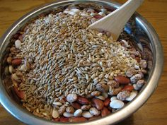 "Ezekiel ~ ""Take wheat & barley, beans & lentils, millet & spelt; put them in a storage jar & use them to make bread for yourself. Clean Recipes, Real Food Recipes, Vegetarian Recipes, Cooking Recipes, Simple Recipes, Diabetic Recipes, Dakota Bread, Ezekial Bread, Food Combining"