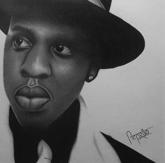 Shop for jay-z art from the world's greatest living artists. All jay-z artwork ships within 48 hours and includes a money-back guarantee. Choose your favorite jay-z designs and purchase them as wall art, home decor, phone cases, tote bags, and more! Z Arts, Graphite Drawings, Realism Art, Jay Z, Pencil Portrait, The World's Greatest, Fine Art America, Art Work, Museum