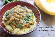 Nightshade-Free Paleo Lamb Curry | The Paleo Mom