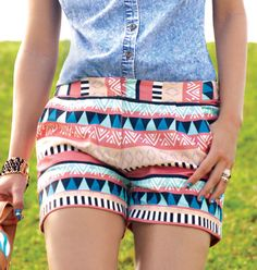 Adorable fashion tribal print shorts for girls and women of any age, a fun and flirty look that is so in this summer. Find this and many other amazing products here:http://beyourbestyou.avonrepresentative.com/