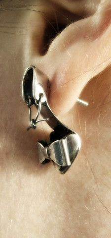 High heel earrings... 'nuf said <3