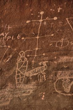 Sego Canyon Petroglyphs HDR - 13 by WY Man, via Flickr