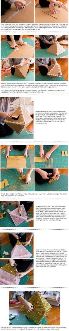 Geometric Piñata DIY » Reveiller