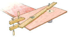 CLICK HERE to download the free PDF woodworking plan for the minimalist router table. - CLICK TO ENLARGE