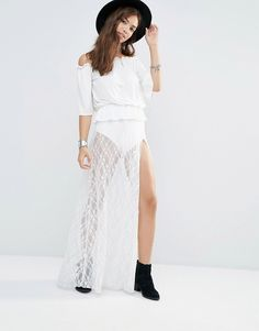 Boohoo+Lace+Maxi+Skirt+With+Knickers