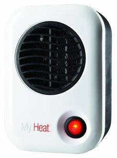 Lasko 101 My Heat Personal Heater, White Lower power useage saves on your energy bill and helps to elimanate tripping the circuit breaker if multiple heaters are used in an office setting.. Energy-smart, uses only 200-watts. 3.8 x 4.3 x 6.1 tall.  Fully assembled.. Safe ceramic element, overheat protection and cool-touch housing. ETL listed for safety.  #Lasko #Home