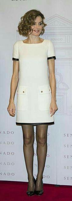Reina Letizia платье,женское,мода,комбинированное,белое,летнее платье,прямое