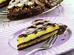 Torta con sfoglia al cacao e crema di Luca Montersino | Peccati di Gola