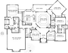 unique 1 story open floor house bing images
