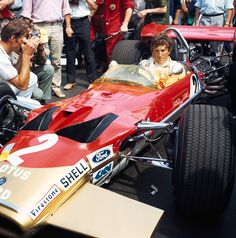 Jochen Rindt the only posthumous winner of the F1 World Drivers Championship. He lost his life in a fatal crash during practice for the Italian Grand Prix