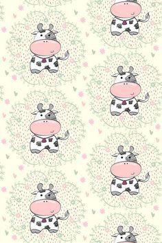 Wallpaper. E Cow Wallpaper, Iphone Background Wallpaper, Painting Wallpaper, Cellphone Wallpaper, Iphone Backgrounds, Wallpapers Tumblr, Tumblr Wallpaper, Cute Wallpapers, Wallpapers Android