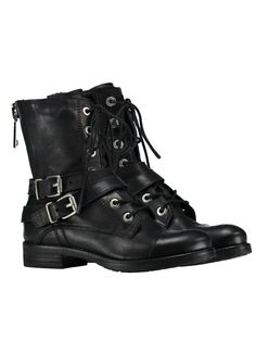 Vetersboots black Nikkie