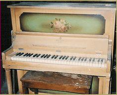 1921 Milton Tom Thumb Minature Upright Piano, New York, NY