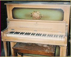 1921 Milton Tom Thumb Minature Upright Piano, New York, NY