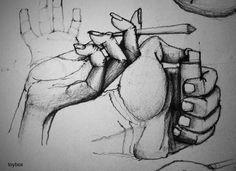 Pencil Hand Study