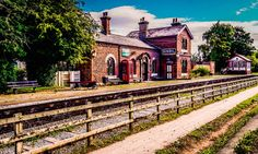 Hadlow Road Railway Station, England jigsaw puzzle in Street View puzzles on…