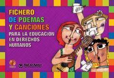 Fichero de poemas y canciones para la educación en derechos humanos Social Studies, Comic Books, Classroom, Study, Peace, Education, Comics, Cover, Labor